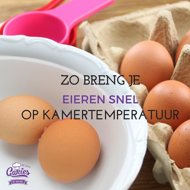 Zo breng je eieren snel op kamertemperatuur