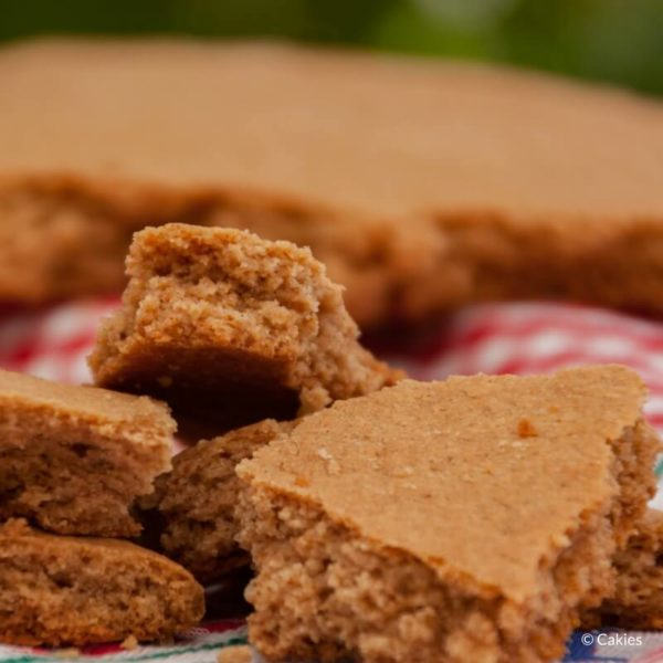 Dutch soft speculaasbrok is crunchy on the outside and soft on the inside. A giant spiced cookie chunk that makes a delicious fall or winter treat. #dutchfood #dutchrecipe #speculaasrecipe #speculoos