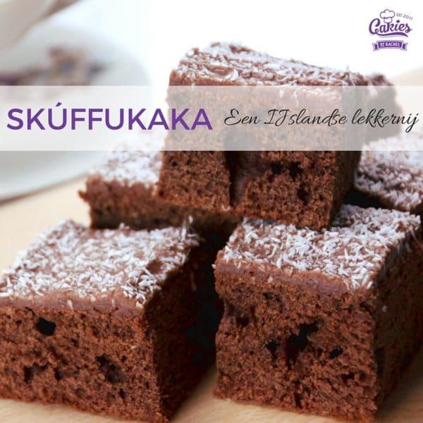 Skúffukaka - IJslandse Brownies