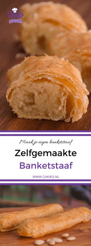 Dit banketstaaf recept is super makkelijk. Banketstaaf of banketletter is een heerlijke lekkernij voor Sinterklaas of Kerst. Maak nu je eigen banketstaaf.