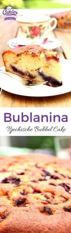 Bublanina – Tsjechische Bubbel Cake | Een makkelijk, één kom recept voor Bublanina, een Tsjechische Bubbel Cake. Deze cake is luchtig en makkelijk om te maken. Het hele jaar een heerlijke cake. | http://www.cakies.nl