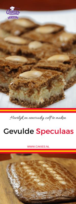 Gevulde Speculaas is super lekker en heel makkelijk om zelf te maken. Heerlijke speculaas met een zachte amandelspijs vulling. #speculaas #amandelspijs #gevuldespeculaas #recept #recepten