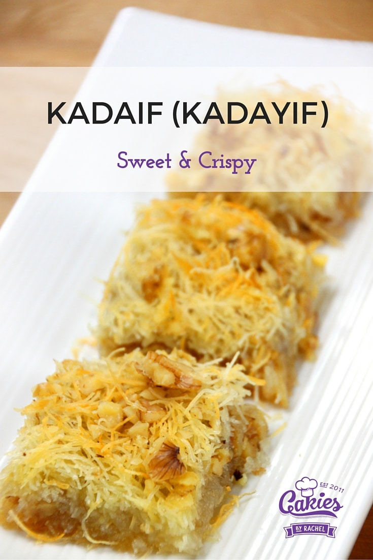 A great recipe for Kadaif (Kadayif)
