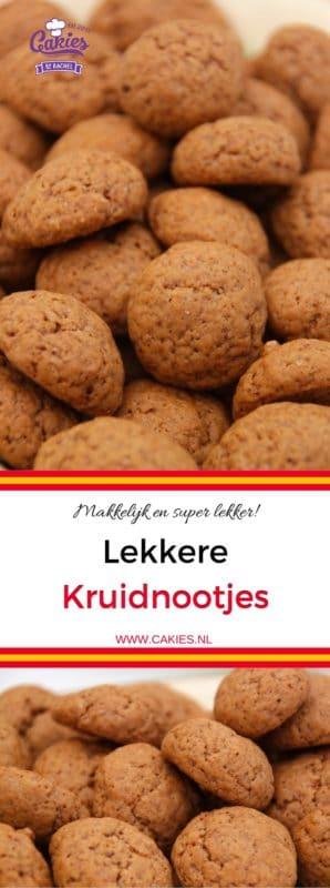 Dit kruidnootjes recept is super makkelijk en leuk om met kinderen te maken. Een lekker Sinterklaas recept voor 5 december.