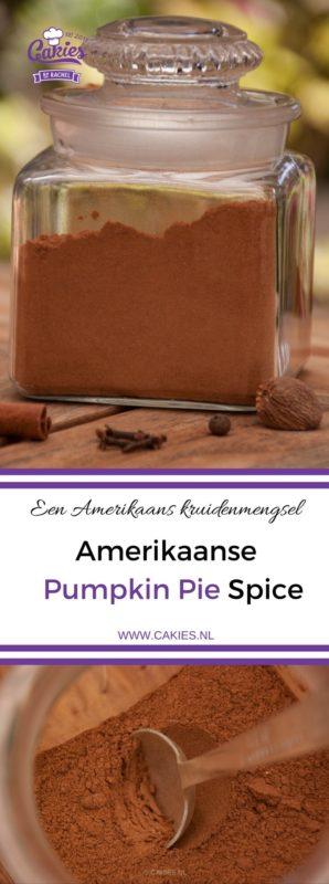 Pumpkin pie spice is een Amerikaans kruidenmengsel. Een geurig mengsel van kaneel, nootmuskaat, gember, kruidnagel en piment. Makkelijk om zelf te maken. #recept #recepten