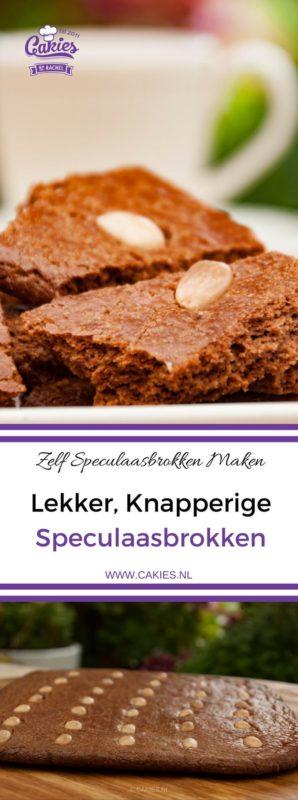 Speculaasbrokken zijn echt super lekker en makkelijk zelf te maken. Je maakt gewoon een hele grote speculaas koek en breekt deze in stukken (brokken). #speculaasbrokken #speculaasrecept #speculaas
