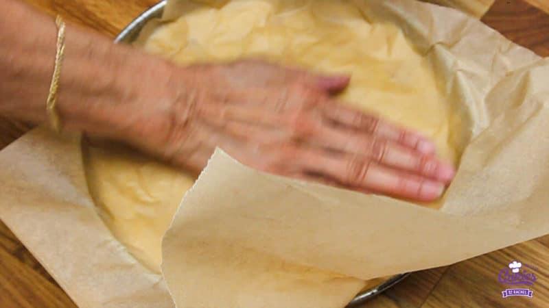 Boterkoek Recept | Boterkoek is smeuïg met een knapperig randje. Boterkoek is makkelijk zelf te maken. Bak vandaag nog zelf deze lekkere boterkoek. | https://www.cakies.nl | Stap 10