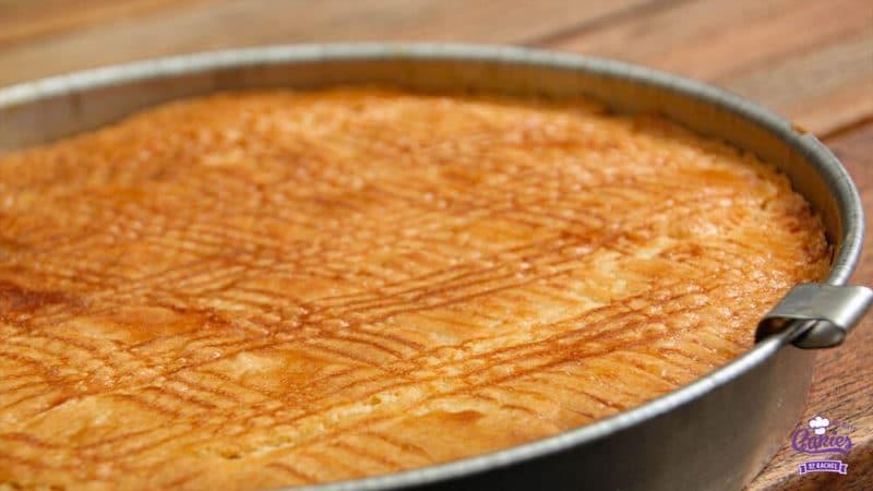 Boterkoek Recept | Boterkoek is smeuïg met een knapperig randje. Boterkoek is makkelijk zelf te maken. Bak vandaag nog zelf deze lekkere boterkoek. | https://www.cakies.nl | Stap 13