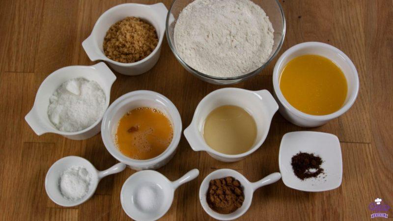 Ingrediënten Zachte Speculaasbrok
