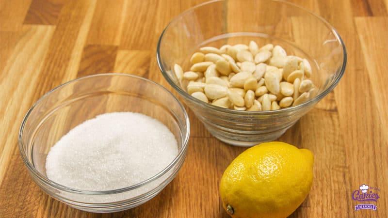 Zelf Amandelspijs Maken | Deze zelfgemaakte amandelspijs is super makkelijk om te maken en echt veel lekkerder dan uit de winkel! Amandelspijs recept, leer zelf amandelspijs maken. | http://www.cakies.nl | Stap 01
