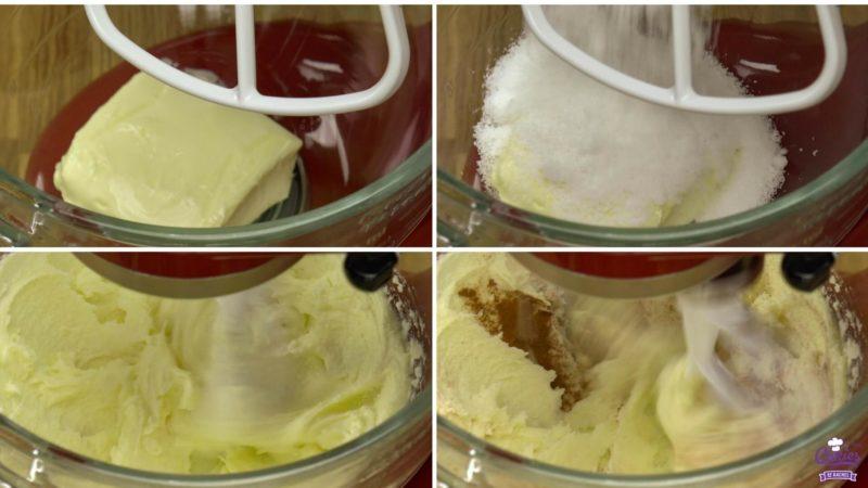 Jan Hagel Koekjes Recept | Jan Hagel Koekjes zijn een typisch Hollands koekje. Een heerlijk bros koekje met een vleugje kaneel, bedekt met amandelen en parelsuiker. | https://www.cakies.nl | Stap 03