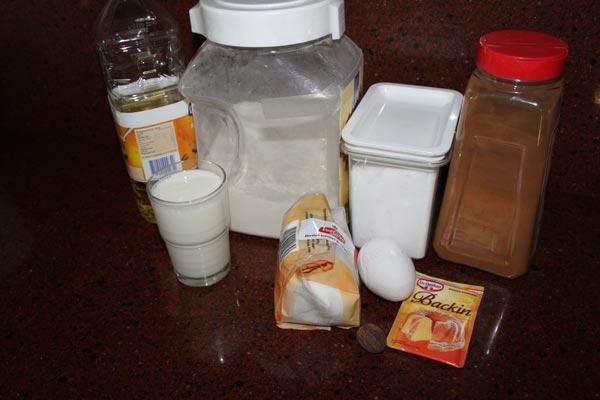 Muffins die smaken naar donuts! |Kaneel en Suiker Muffins | Deze Kaneel En Suiker Muffins smaken echt naar donuts! Een makkelijk recept, ik maak ze graag als mini kaneel en suiker muffins, als snack. | http://www.cakies.nl | Stap 01