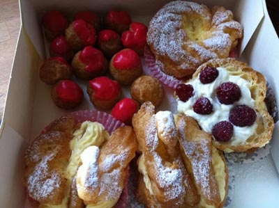 choux pastry goodies