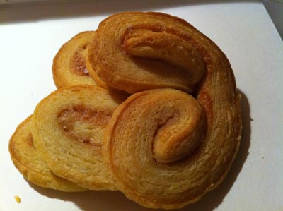 Only the palmiers survived...