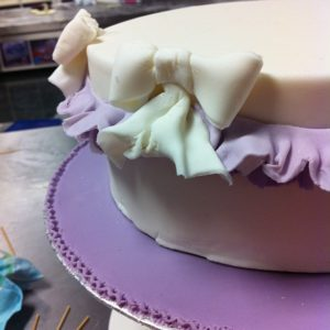 Cake with Frills and Bows