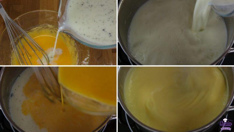 Basis Banketbakkersroom Recept | Banketbakkersroom is een heerlijke custard of pudding, lekker als vulling voor soesjes of taarten. Banketbakkersroom is makkelijk zelf te maken. | https://www.cakies.nl | Stap 05