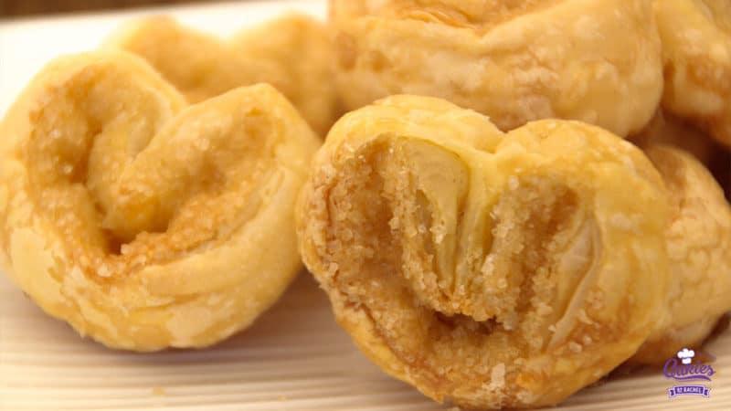 Suikervlinders Recept | Suikervlinders zijn een knapperig, zoet Frans koekje, ook wel Palmier genoemd. Met 3 ingrediënten kan je zelf deze heerlijke suikervlinder koekjes maken. | http://www.cakies.nl | Stap 14